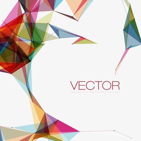 Des formes abstraites Contexte | EPS10 Design futuriste Vecteurs