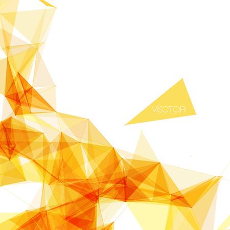 Abstracte Geometrische Achtergrond voor ontwerp   EPS10 Illustratie