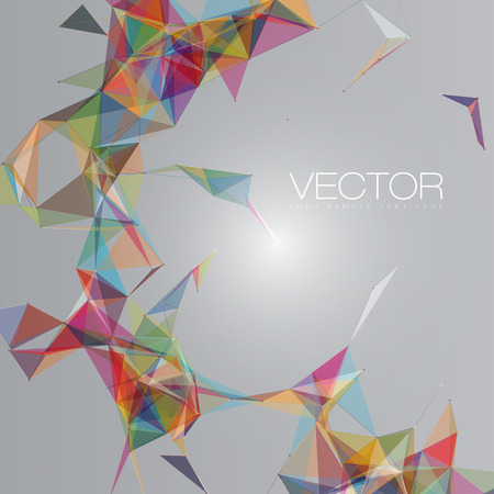 Abstract Shapes Background   EPS10 Futuristic Design Vectores