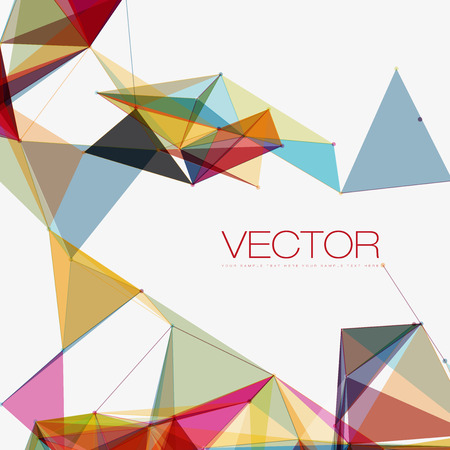 Abstract Shapes Background | EPS10 Futuristic Design Ilustracja