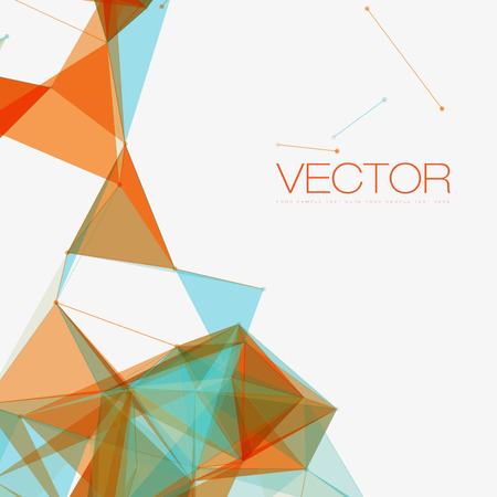 Abstract Shapes Background | EPS10 Futuristic Design Illustration