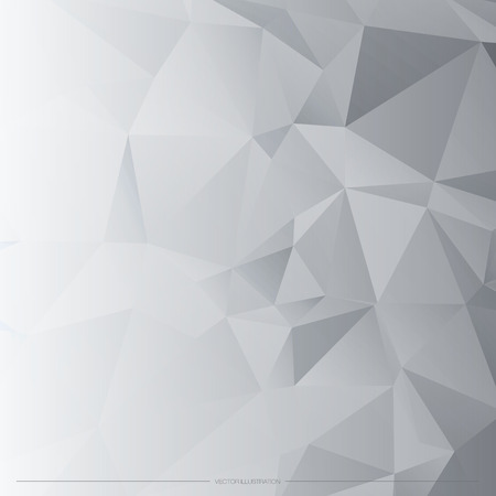 white abstract: Astratto poligonale Vector Background. Vettoriali