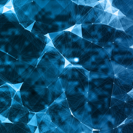 artificial intelligence: Abstract Mesh Background of Artificial intelligence