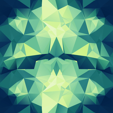 polyhedron: Abstract Colorful Lowpoly Background  Illustration