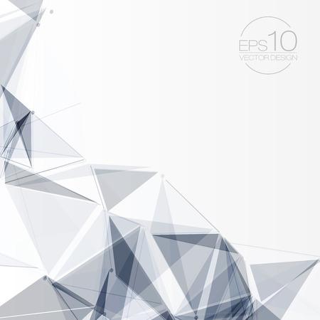 抽象的な図形背景 |EPS10 未来的なデザイン