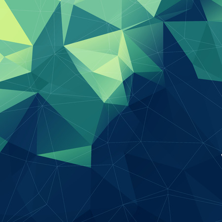 Abstract Colorful Lowpoly Vector Background  Design
