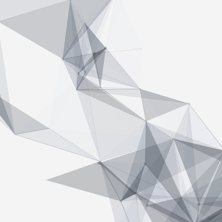 Black and White Mesh Vector Background | Design