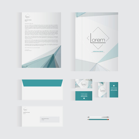 originality: Blue Stationery Template Design for Your Business | Modern Vector Design