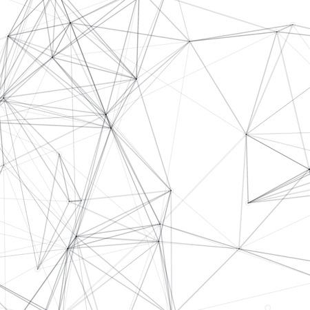 抽象図形のベクトルの背景 |ライン アート