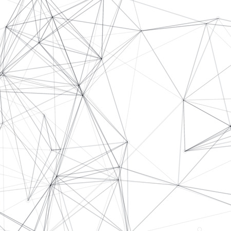 Abstract Shapes Vector Background | Line Art