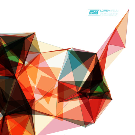 Abstract shapes background  EPS10 Futuristic Design Vector