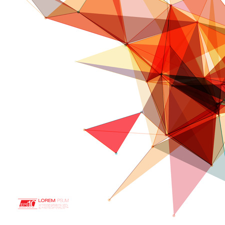 Abstract shapes background  Futuristic Design