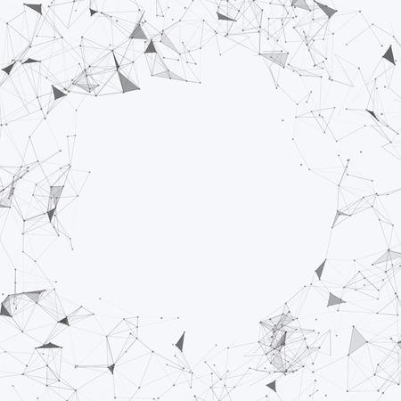 mesh: Black and White Mesh Vector Background  Design Illustration