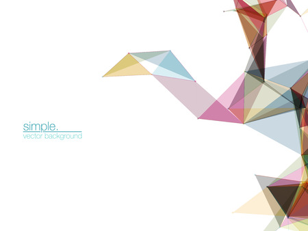 mesh: Abstract Mesh Background  Futuristic Design