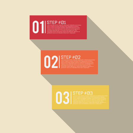 yellow vector: Step by Step Infographics Success Vector Design Template  EPS10 Editable Background Illustration