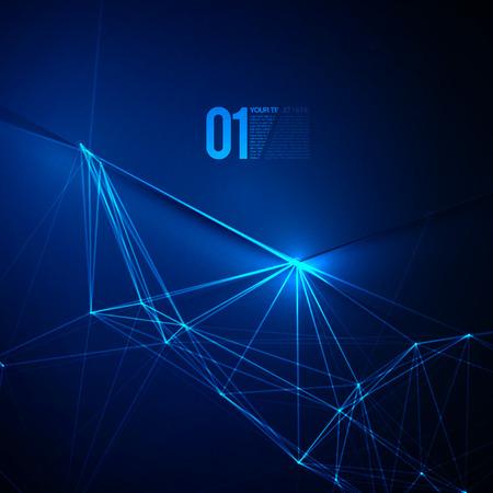 laser light: Abstract Blue Laser Light  EPS10 Vector Background Illustration