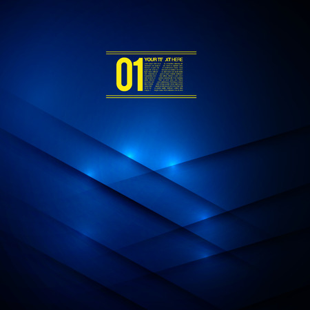 Abstract Blue Business Design  EPS10 Vector Background Vector