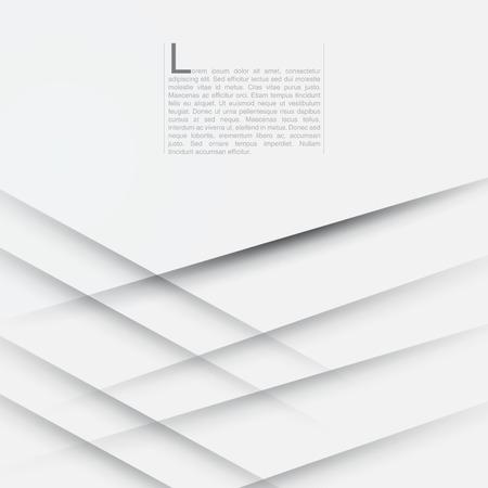 白いモダンな抽象背景 EPS10 ベクトル図