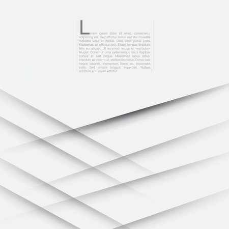 White Modern Abstract Background  EPS10 Vector Illustration