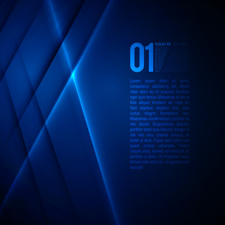 Abstract Blue Business Design EPS10 Vector Hintergrund