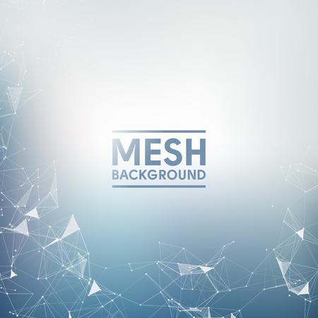 mesh: Blue Vector Background  Mesh Design Illustration