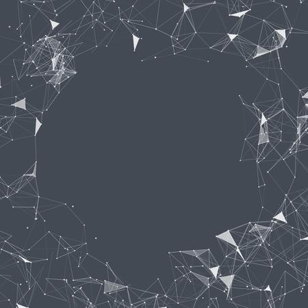mesh: Black and White Mesh Vector Background  EPS10 Design