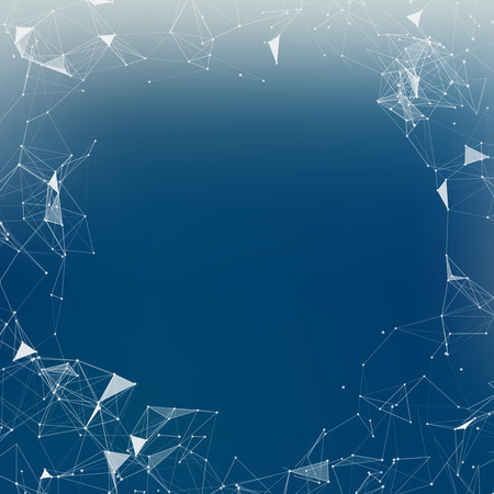 mesh: Blue Mesh Vector Background  EPS10 Design Illustration