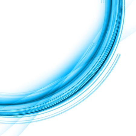 lines vector: Blue Line Vector Art Design
