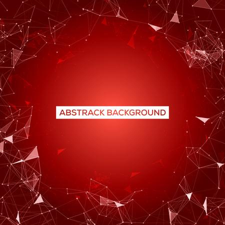 mesh: Red Mesh Design   Vector Background Illustration