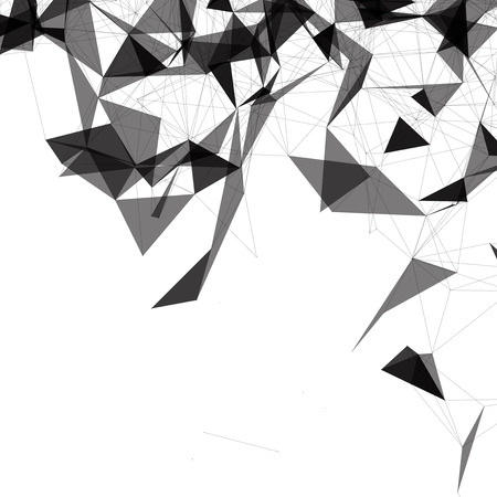 mesh: Black and White Mesh Design
