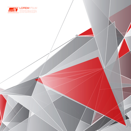 figure astratte: Abstract shapes background Futuristic Design Vettoriali
