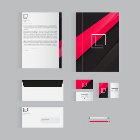 originalidad: Modern Stationery Design Template Design for Your Business