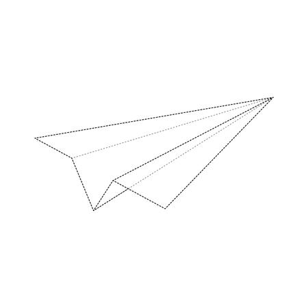 minimal: Dashed Lines Minimal Airplane Design