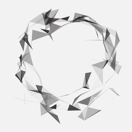 eps10 vector background: Black and White Mesh Design EPS10 Vector Background