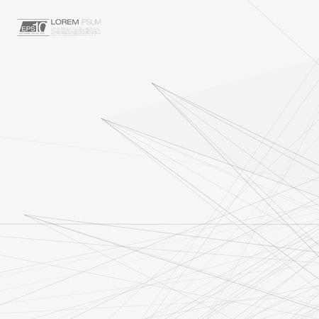 3D in bianco e nero Maglia astratta sfondo con linee | EPS10 layout Design per il tuo business