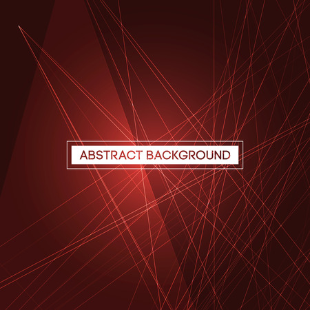 red line: Abstract Mesh on Red Background | EPS10 Line Design Texture for Your Presentation