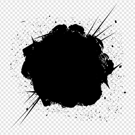 boomers: Explosion on Transparent Background Vector Isolated | EPS10 Design Illustration