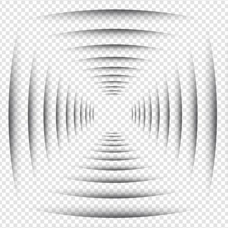 advertiser: Shadow Line - Round Design Elements on Isolated Background Illustration