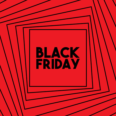 Vector Illustration Black Friday Illustration
