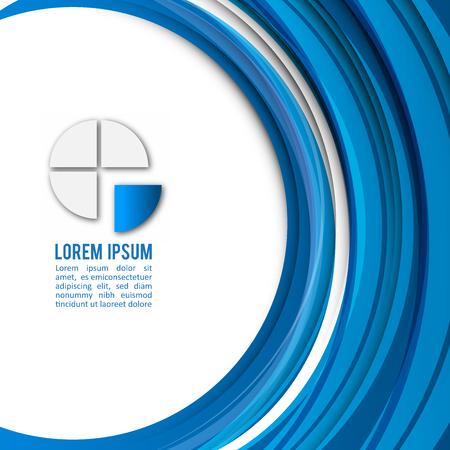 texture: Blue Modern Business Design Layout