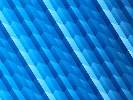 digital background: Geometric Blue Vector Background Illustration