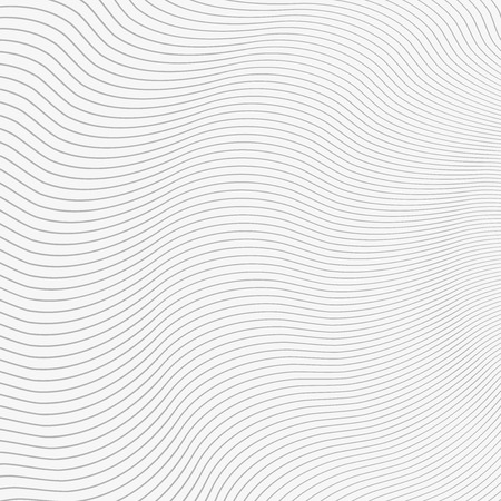 grid pattern: Gray Abstract Wavy Lines Background on White Vector