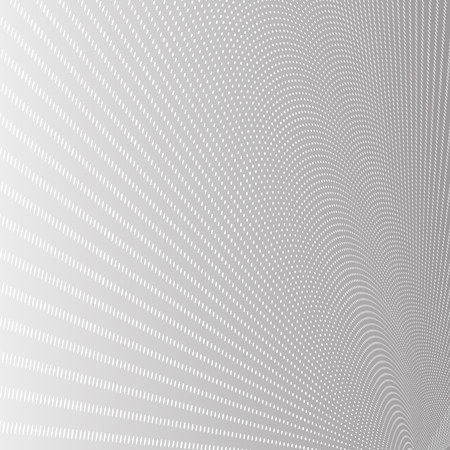 abstract backgrounds: 3D Mesh White Dots on Gray Background | Vector Illustration Illustration