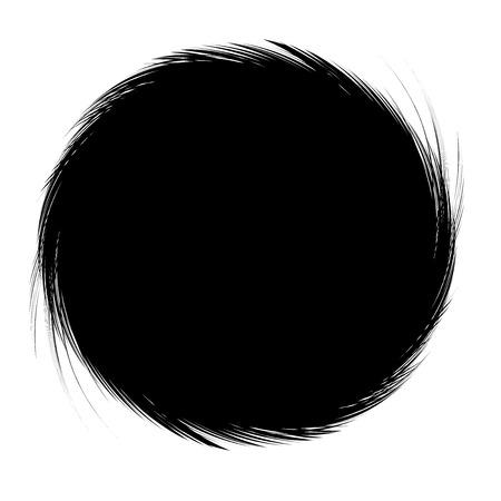 black: Abstract Black Background Frame on White Background Vector Illustration Illustration