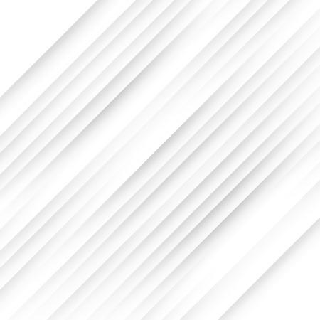 Simple Slanting Shadow Lines Vector Background - Decorative Minimal Illustration Ilustração