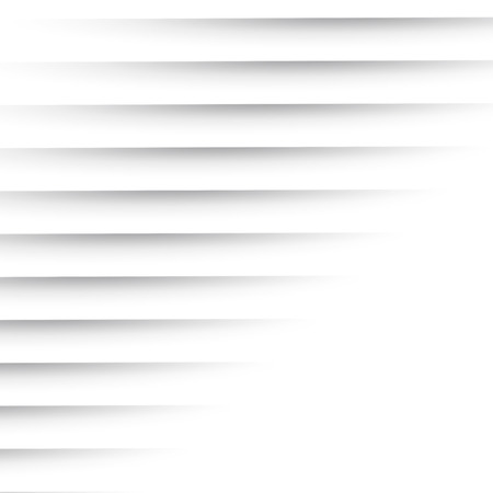 Simple Horizontal Shadow Lines Vector Background - Decorative Minimal Illustration