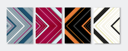 Minimal Vector Covers Design, Cool Vibrant Colors Topographic Lines Illustrations, Future Poster Templates. Illustration