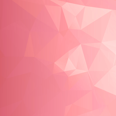 Color of the year 2019 Living Coral - Geometric Abstract Vector Illustration