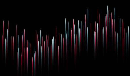 Abstract Optical Fibers - Technology Illustration Communication