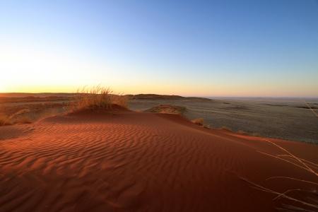 vlei: Namibia desert Stock Photo